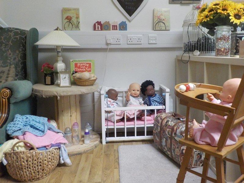Home Corner at Potley Hill Preschool